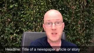 Headline English #2