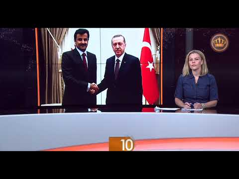 English News at Ten on Jordan Television 15-08-2018