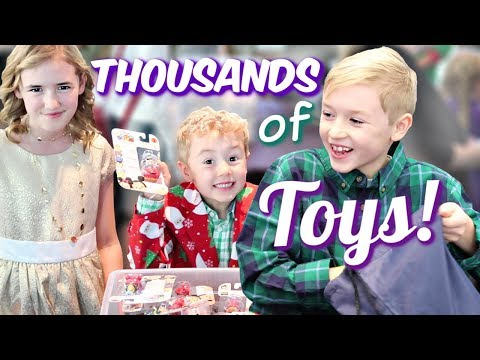 Thousands of Toys for Sick Kids at Children's Hospital Los Angeles!