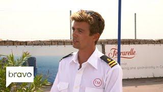 Below Deck Mediterranean: Conrad Empson Confronts Captain Sandy (Season 3, Episode 8)   Bravo