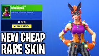 WOW!! NEW Good skin for CHEAP! Fortnite ITEM SHOP (October 27) BUNNYMOON SKIN + TREAT YOURSELF EMOTE