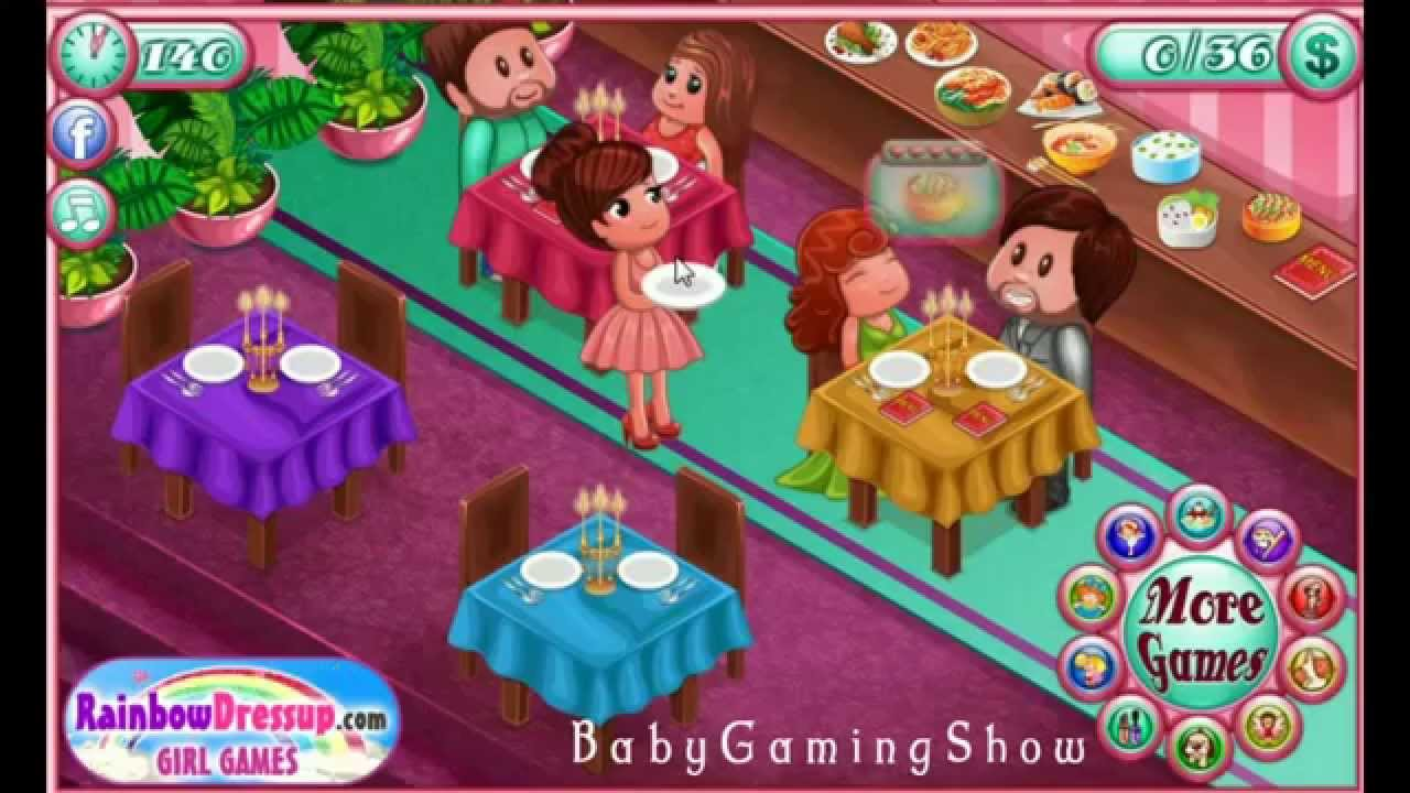 restaurant dating games How to play the game kissing in the restaurant game today you'll meet our friend lola, a very pretty girl who is going on a date tonight with her new boyfriend tim.