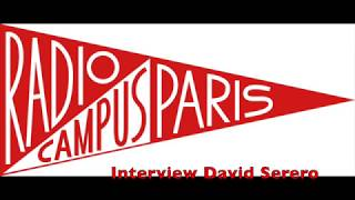 Interview Radio Campus Paris de David Serero dans Cyrano à New York (2018)