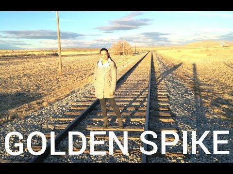 GOLDEN SPIKE, UTAH