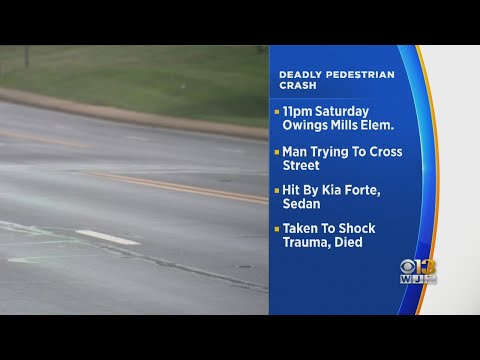 Pedestrian Killed, Driver Sought After Fatal Crash Outside Owings Mills Elementary School