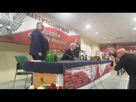 Antoni Macierewicz na Zjeździe Klubów GP w Spale