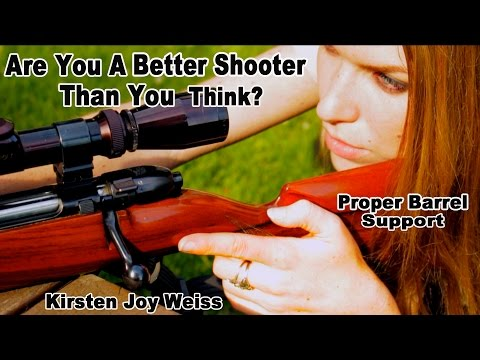 Are You A Better Shooter Than You Think? - Proper Barrel Support - How To Shoot Awesomely