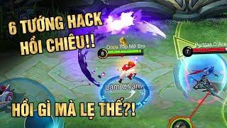 Mobile Legends   6 Tướng HACK Hồi Chiêu Siêu Bá! Đánh Nhau 1 Tí Là Chiêu Lại Hồi!   Tốp Mỡ Gaming