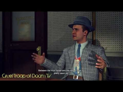 L.A. Noir: Perfect Interrogation - Jack Kelso at Central Station [Manifest Destiny Case]