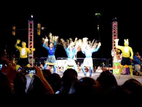 San Antonio Downtown Diwali Celebration 2016 - Tamilnadu Group Dance