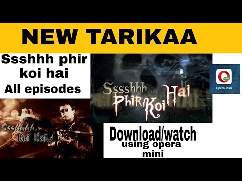 Ssshhh phir koi hai All episodes Download/ watch (Hindi)