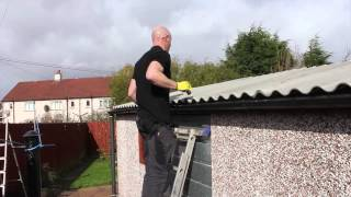 How to Replace a Compton Apex Garage Roof