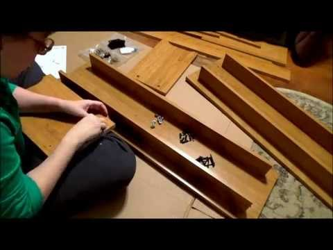 Assembling a Trestle Table and Benches (Part 1)