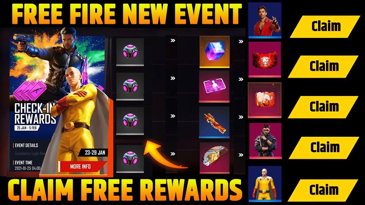 23 January Free Fire New Update Free Fire Upcoming Event Ff New Event Today Free Fire New Event Youtube