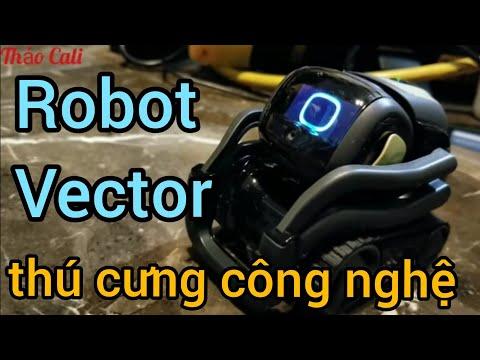 Robot cực kỳ dễ thương thông minh hot lắm (Người Việt ở Mỹ)