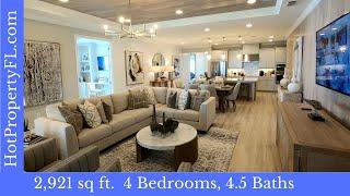 Lakeview Preserve  New Model Home Tour  377995  4Br 45Ba  Clermont FL  Taylor Morrison