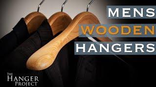 Luxury Wooden Hangers for Men