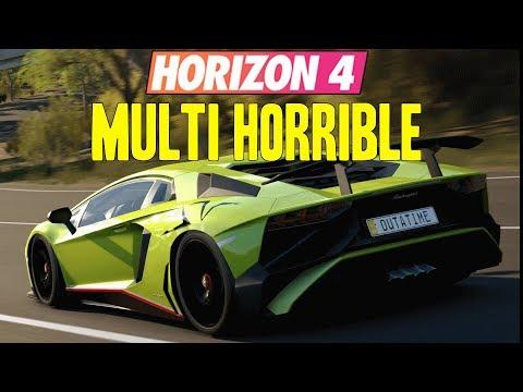Forza Horizon 4 : Le PIRE FORZA MULTI ?