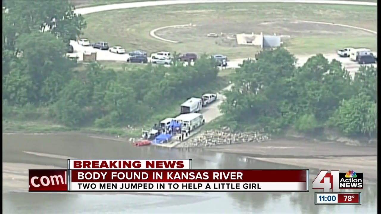Body of man found in Kansas River after he jumped in to save girl he  thought was drowning