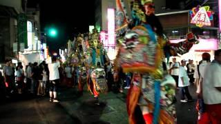 2012(海湖福安府)  炮贊(新營共福堂) 板車電子高空煙火秀