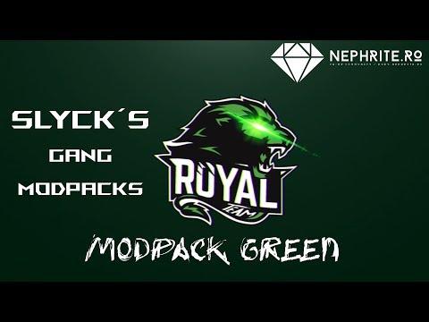 SLYCKS GREEN MODPACK | SA:MP