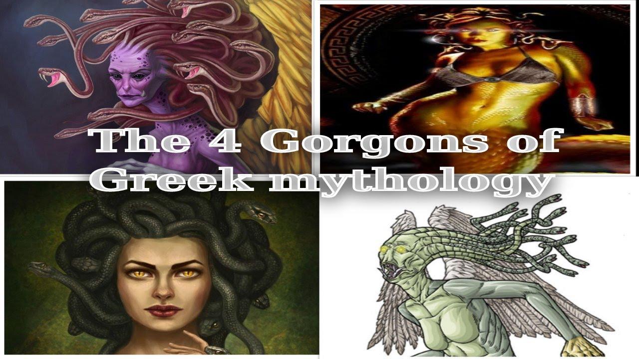 Download The 4 Gorgons Of Greek Mythology (Complete)