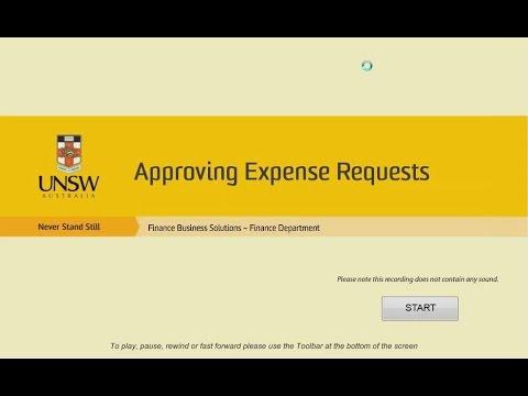 EX approving expense request