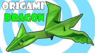 Easy Origami Dragon A4 Instructions