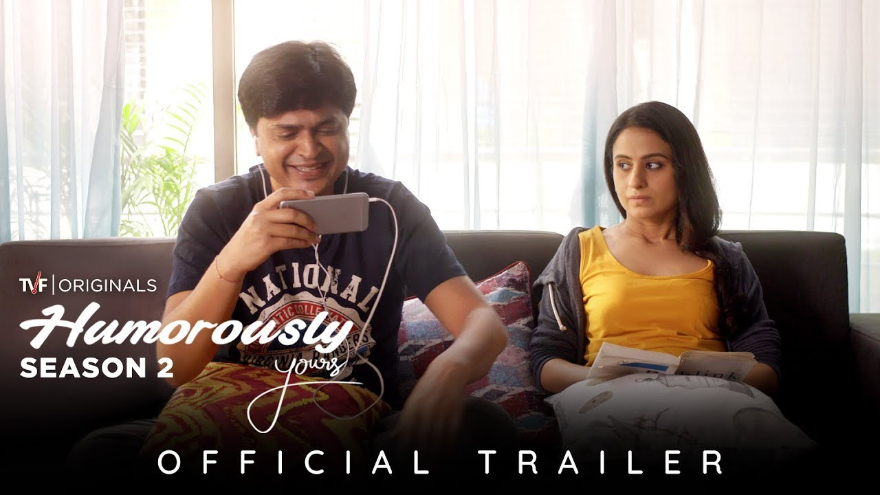 Humorously Yours Season 2 Official Trailer Binge Watch All Episodes On 7 June On Tvfplay Youtube