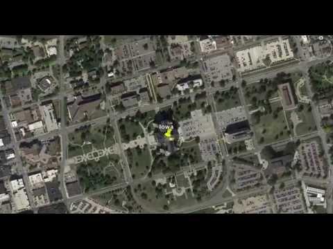 Capitol Building Alignments: Nebraska, Iowa, Vermont, Maine