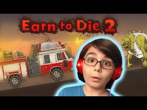 Zombi vs Araba (Earn to Die 2) - Mobil Oyun - BKT