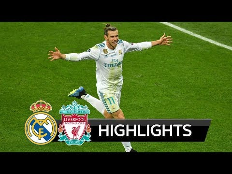 Real Madrid Vs Liverpool | 3-1 | Highlights & Trophy | UCL Final - 2017/2018