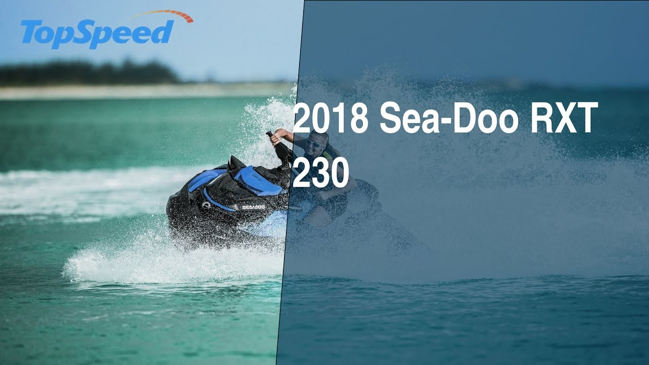 2018 Sea-Doo RXT 230