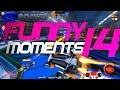 ROCKET LEAGUE FUNNY MOMENTS 14 😆 (FUNNY REACTIONS, FAILS & WINS BY COMMUNITY & PROS!)