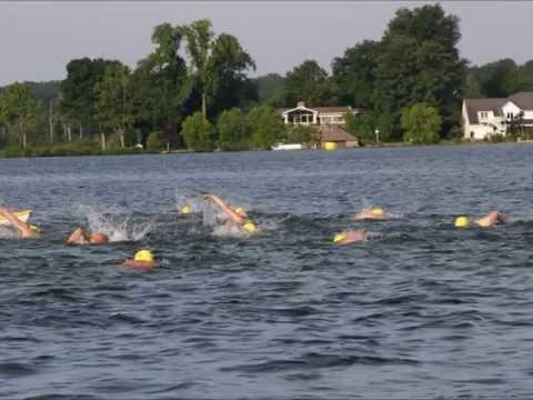 Goguac Lake Swim 2015