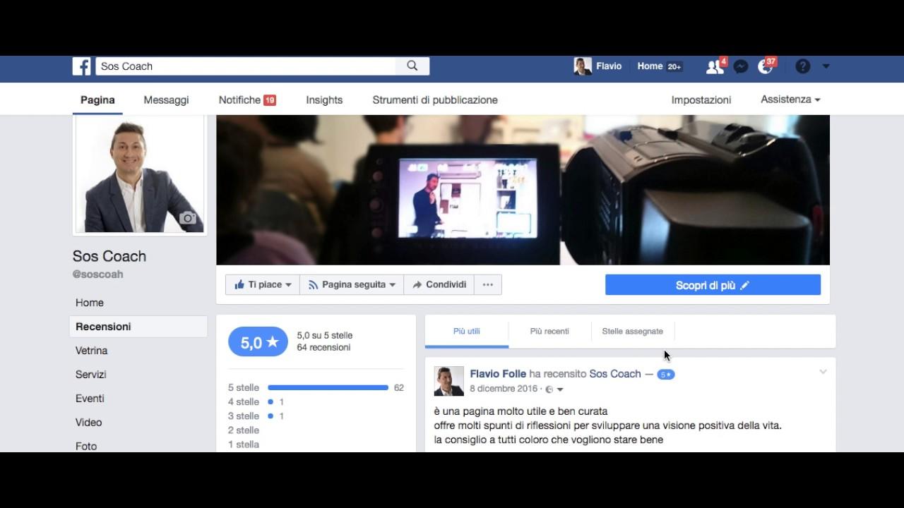 Come Modificare Una Recensione Su Una Pagina Facebook