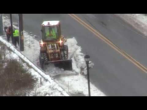 Light Rail Sidewalk Shoveling - Post Blizzard 17