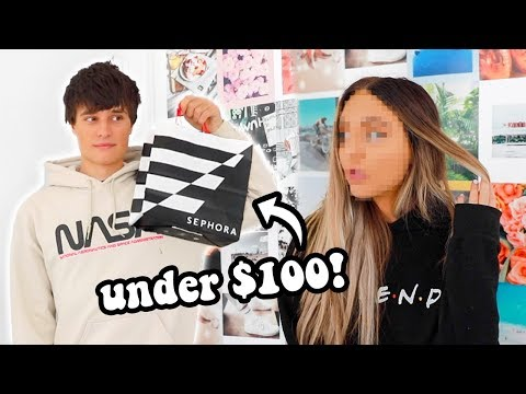 boyfriends buys my makeup... for under $100... thumbnail
