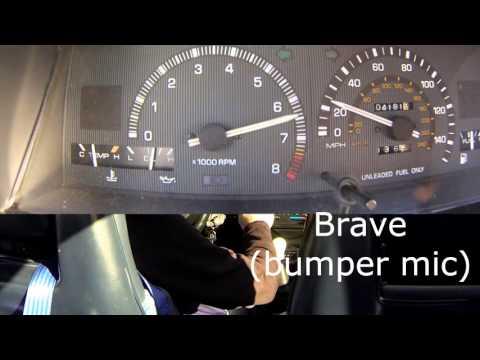 AE86 exhaust comparison. HKS Hi-Power vs Brave
