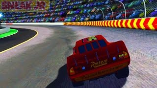Cars 1 the Videogame - no com 9 - Lightning Mcqueen VS THE PISTON CUP?
