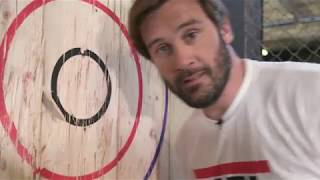 Vikings | Axe Throwing with Clive Standen