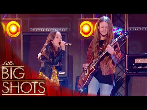 'Sweet Child O' Mine' Cover by Emma Marie & Lucy | Little Big Shots