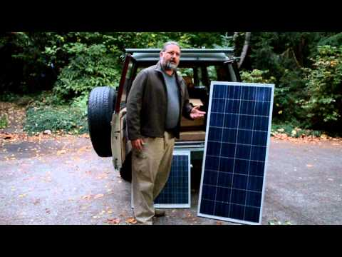 Solar power system for off grid property.