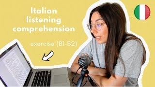 Italian listening comprehension: il bar italiano [ITA audio] (with transcript)