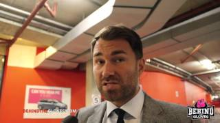 Eddie Hearn talks PPV situation, Abraham vs Murray and gives an update on Quigg vs Frampton talks