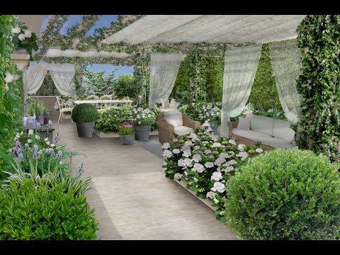 Il progetto di una terrazza in stile provenzale 31  YouTube