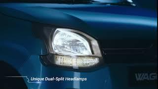 #BigNewWagonR - Unique Dual-Split Headlamps