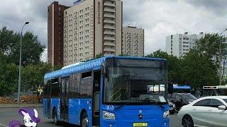 Поездка на автобусе ЛиАЗ-4292.60 (Группа ГАЗ) КН 642 77 Маршрут № 815 Москва