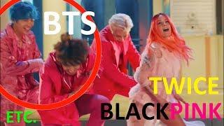 MISTAKES IN K-POP MUSIC VIDEOS PART 9 (BTS, BLACKPINK, TWICE, ETC.)