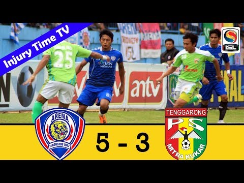 Arema Indonesia 5-3 Mitra Kukar | ISL 2011/2012 | All Goals & Highlights